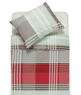 Seersucker bedding set ELORA 30-0416-BORDO
