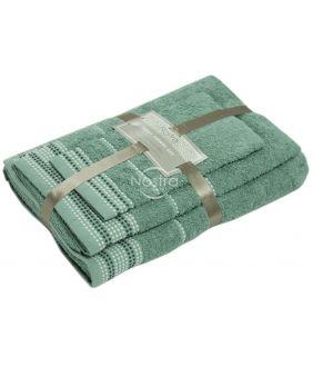3 pieces towel set T0044 T0044-ICEBERG GREEN
