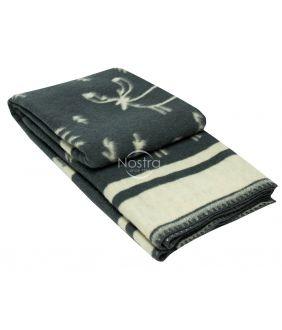 Blanket MERINO 80-3190-DARK GREY