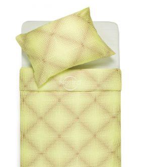 Premium maco sateen bedding set CAROLINE 30-0450-YELLOW