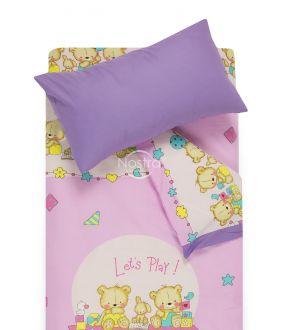 Children bedding set BEARS 10-0215/00-0139-PINK/ORCHID BLOOM