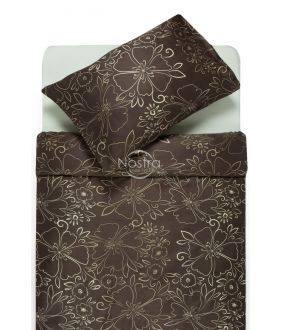 Постельное бельё из сатина ACANTHA 20-1446-CACAO