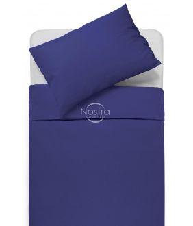 Drobės patalynės komplektas DOTTY 00-0317-DARK BLUE