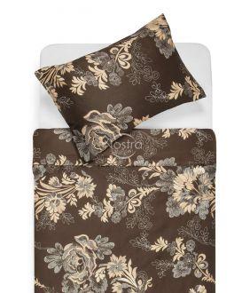 Sateen bedding set AFARIN 20-1301-BROWN/CACA
