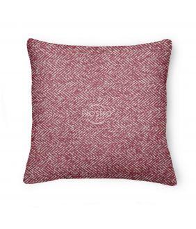 Decorative pillow case 80-3065-BORDO