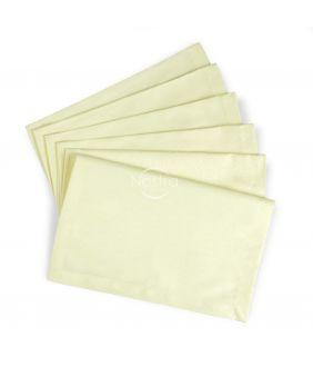 Жаккардовые сатиновые салфетки, 6 штук 80-0009-IVORY