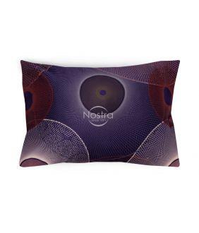 сатиновая наволочка с молнией 30-0285-PURPLE