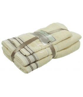 3 dalių rankšluosčių komplektas T0044 T0044-VANILLA