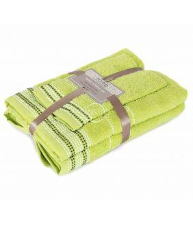 3 pieces towel set T0044 T0044-GRASS