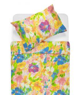 Cotton bedding set DELPHINE 40-0064-ORANGE