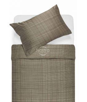 Sateen bedding set APPLE 30-0485-CACAO