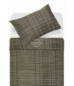 Sateen bedding set APPLE 30-0485-BROWN