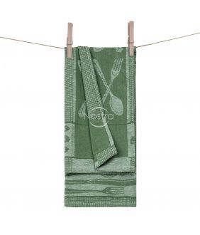 Kitchen towel WAFEL-240 T0018-GREEN