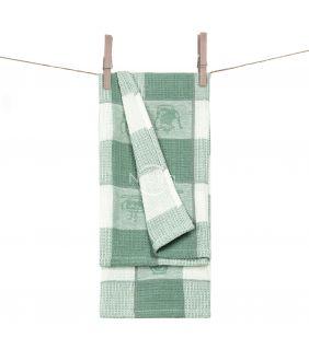 Кухонное полотенце WAFEL-240 T0103-GREEN