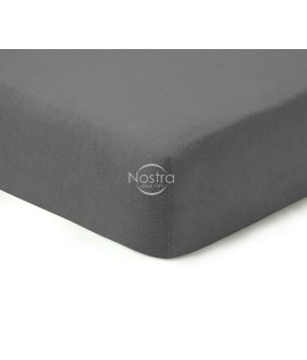 Fitted terry sheets TERRYBTL-DARK GREY