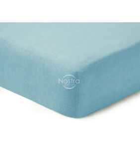 Fitted terry sheets TERRYBTL-L.BLUE