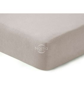 Fitted terry sheets TERRYBTL-SILVER GREY