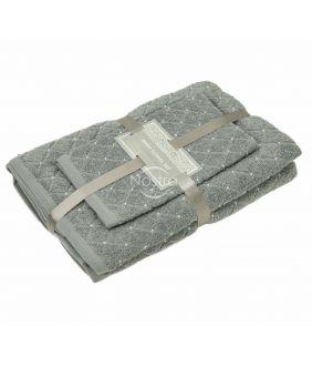 3 dalių rankšluosčių komplektas T0107 T0107-GREY 70