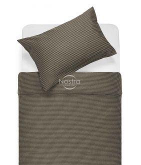 Sateen bedding set AGATHA 30-0424-CHOCO