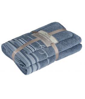 3 dalių rankšluosčių komplektas T0044 T0044-STONE BLUE