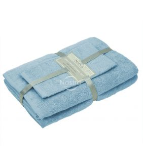 3 dalių rankšluosčių komplektas 380 ZT 380 ZT-PLACID BLUE