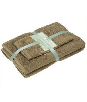 3 pieces towel set 380 ZT 380 ZT-ALMOND