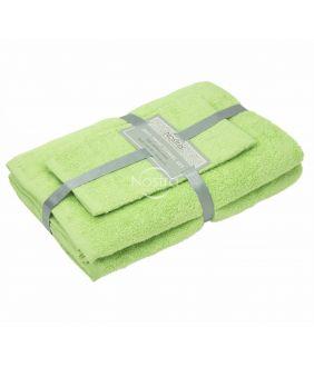 3 pieces towel set 380 ZT 380 ZT-JADE LIME