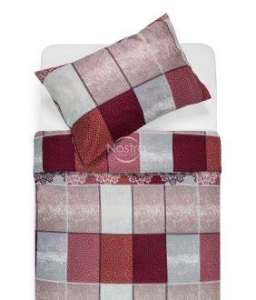 Sateen bedding set ABENA 40-0853-MARSALA