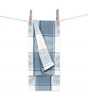 Кухонное полотенце WAFEL-240 T0019-BLUE