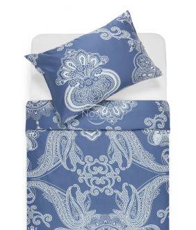 Постельное бельё из сатина ADRA 40-1180-BLUE