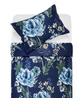 Premium maco sateen bedding set CELINE 20-1541-BLUE