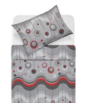 Cotton bedding set DEVORA 40-1158-RED