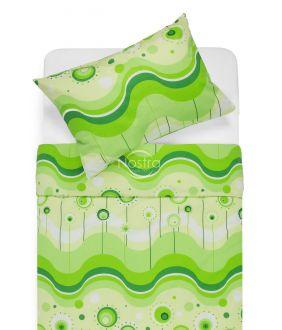 Cotton bedding set DEVORA 40-1158-GREEN