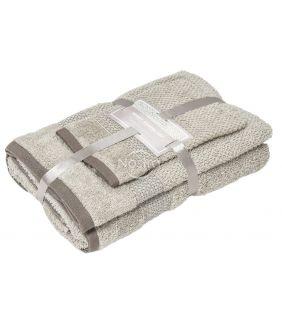 3 dalių rankšluosčių komplektas T0106 T0106-SAND