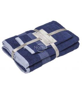 3 dalių rankšluosčių komplektas T0106 T0106-NAVY 266
