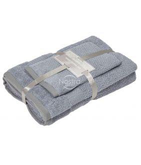 3 pieces towel set T0106 T0106-GREY 70