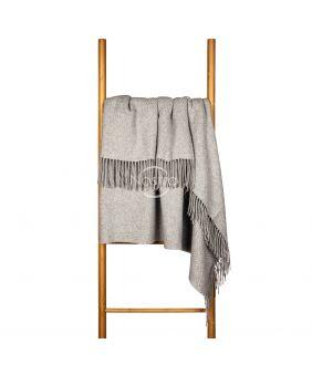 Woolen plaid MERINO-300 80-3137-LIGHT GREY