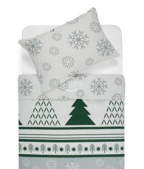 Фланелевое постельное бельё BRISA 10-0550-GREY