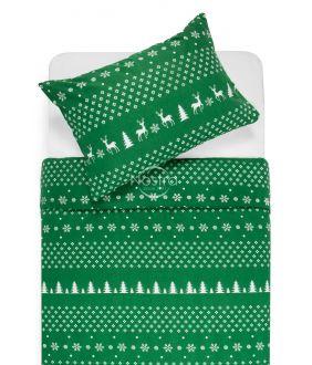 Фланелевое постельное бельё BIANCA 10-0544-GREEN