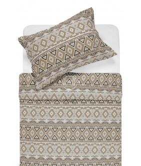 Фланелевое постельное бельё BRIDGET 40-1165-BROWN