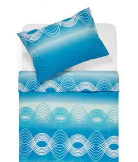 Cotton bedding set DERBY 30-0562-OCEAN BLUE