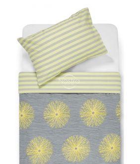 Cotton bedding set DEMAS 40-0681/30-0401-GREY/L.YEL