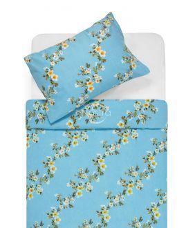 Flannel bedding set BLESSING 20-1550-BLUE