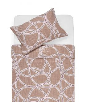 Flannel bedding set BELINDA 40-1164-FRAPPE