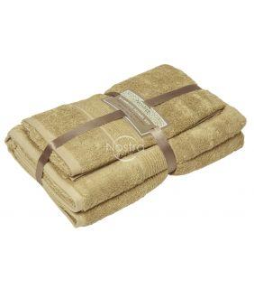 Bambukinių rankšluosčių komplektas BAMBOO-600 T0105-SAND