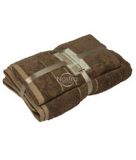 Bambukinių rankšluosčių komplektas BAMBOO-600 T0105-GINGER BROWN