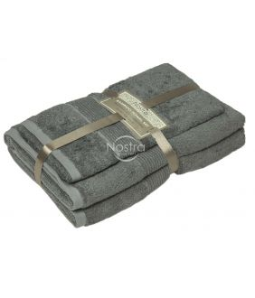 Бамбуковые набор полотенец BAMBOO-600 T0105-FROST GREY
