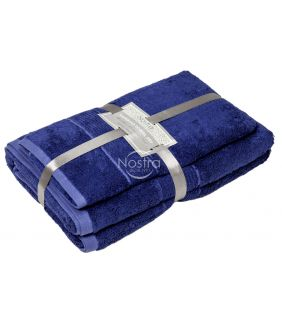 Bambukinių rankšluosčių komplektas BAMBOO-600 T0105-BLUEMARINE