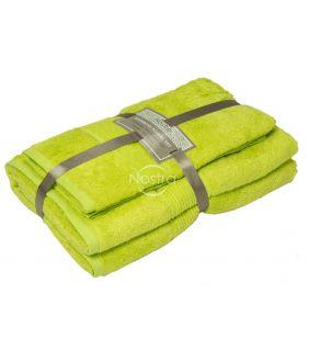 Bamboo towels set BAMBOO-600 T0105-APPLE GREEN