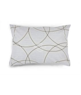 Flanelės pagalvės užvalkalas su užtrauktukais 40-1164-GREY